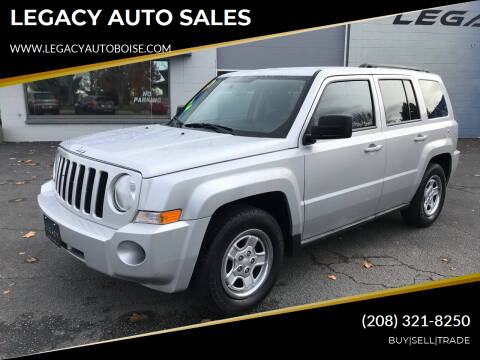 2010 Jeep Patriot for sale at LEGACY AUTO SALES in Boise ID