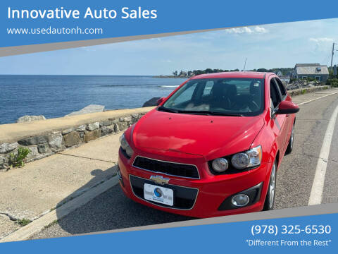 2015 Chevrolet Sonic for sale at Innovative Auto Sales in North Hampton NH