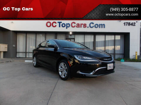 2015 Chrysler 200 for sale at OC Top Cars in Irvine CA