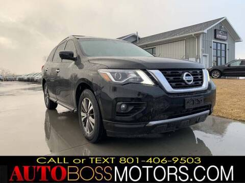 2018 Nissan Pathfinder for sale at Auto Boss in Woodscross UT