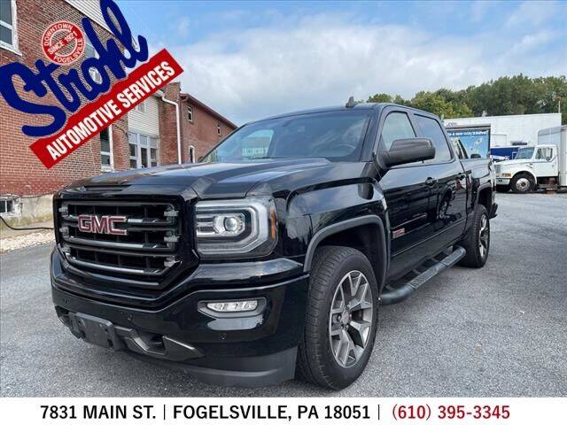 2017 GMC Sierra 1500 for sale at Strohl Automotive Services in Fogelsville PA
