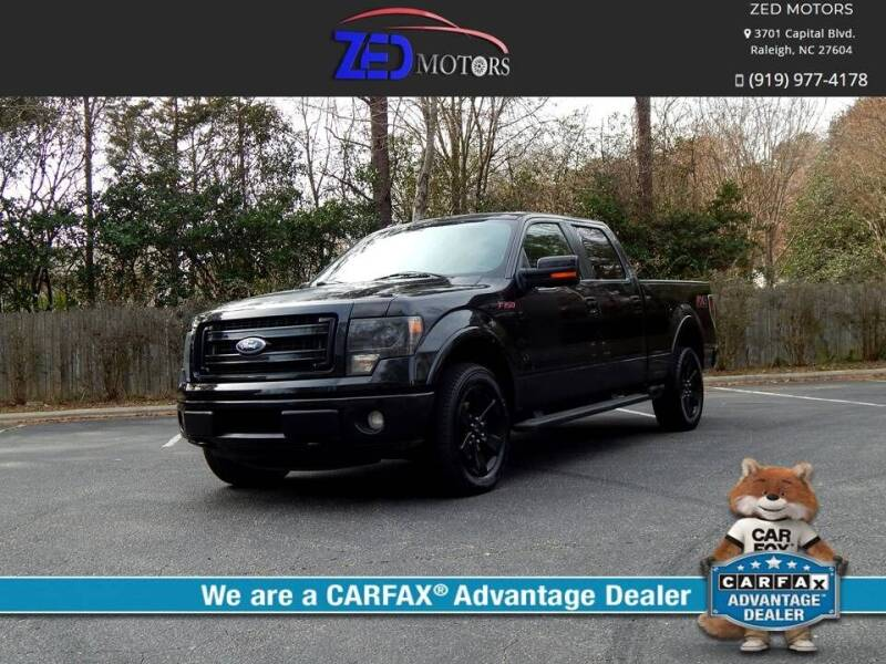 2013 Ford F-150 for sale at Zed Motors in Raleigh NC