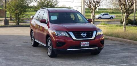 2017 Nissan Pathfinder for sale at America's Auto Financial in Houston TX