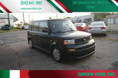 2006 Scion xB for sale at Green Ride Inc in Nashville TN