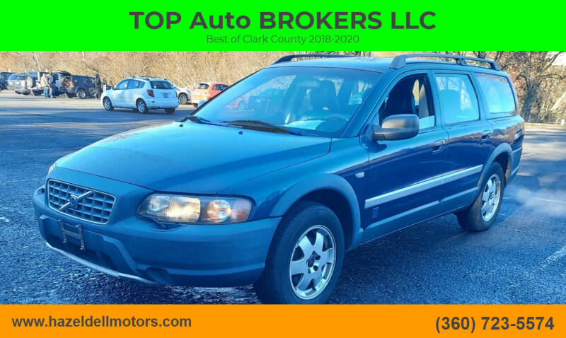 2002 Volvo XC for sale at TOP Auto BROKERS LLC in Vancouver WA