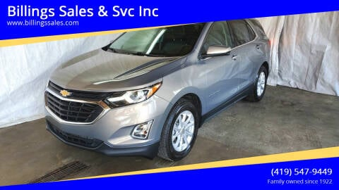 2019 Chevrolet Equinox for sale at Billings Sales & Svc Inc in Clyde OH
