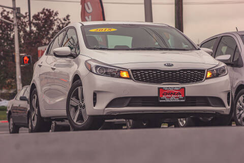 2018 Kia Forte for sale at Dina Auto Sales in Paterson NJ