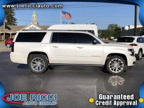 2020 Chevrolet Suburban for sale at JOE RICCI AUTOMOTIVE in Clinton Township MI