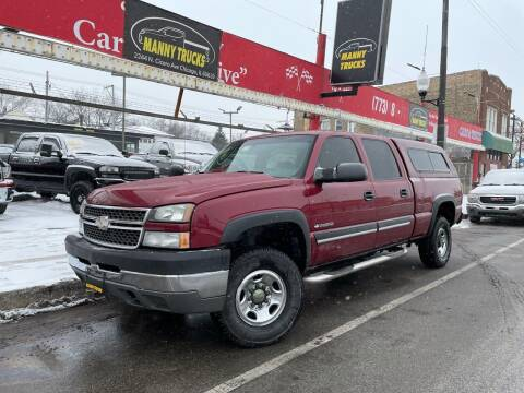 2005 Chevrolet Silverado 2500HD for sale at Manny Trucks in Chicago IL