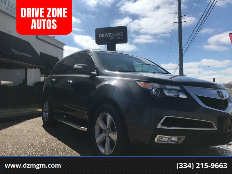 2011 Acura MDX for sale at DRIVE ZONE AUTOS in Montgomery AL