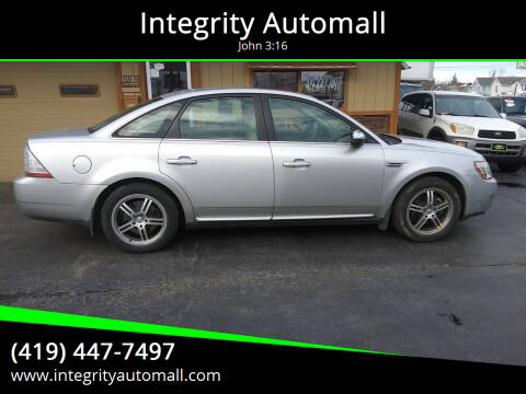 2009 Ford Taurus for sale at Integrity Automall in Tiffin OH