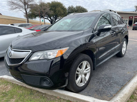 2014 Acura RDX for sale at New Start Auto in Richardson TX