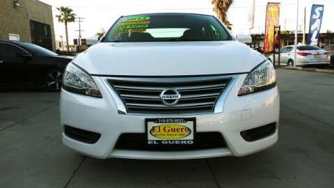 2013 Nissan Sentra for sale at El Guero Auto Sale in Hawthorne CA