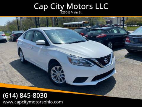 2018 Nissan Sentra for sale at Cap City Motors LLC in Columbus OH