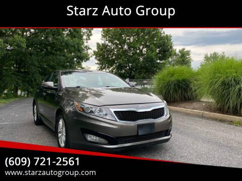 2013 Kia Optima for sale at Starz Auto Group in Delran NJ