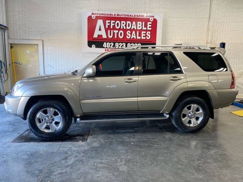 2004 Toyota 4Runner for sale at Affordable Auto Sales in Humphrey NE
