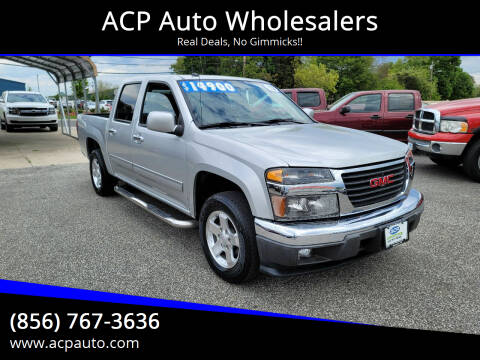 2012 GMC Canyon for sale at ACP Auto Wholesalers in Berlin NJ