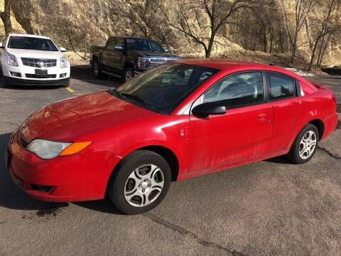 2004 Saturn Ion for sale at Gilly's Auto Sales in Rochester MN
