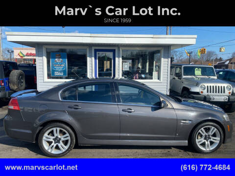 2009 Pontiac G8 for sale at Marv`s Car Lot Inc. in Zeeland MI