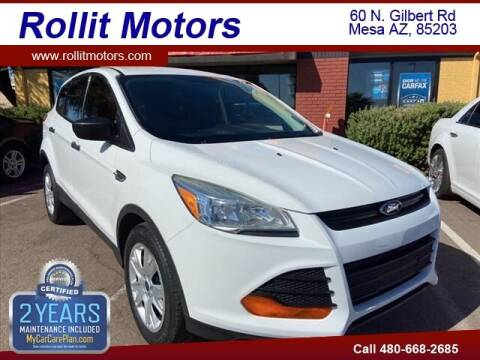 2015 Ford Escape for sale at Rollit Motors in Mesa AZ