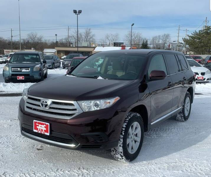 2013 Toyota Highlander for sale at The Bengal Auto Sales LLC in Hamtramck MI
