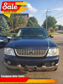 2003 Ford Explorer for sale at European Auto Sales in Bridgeview IL