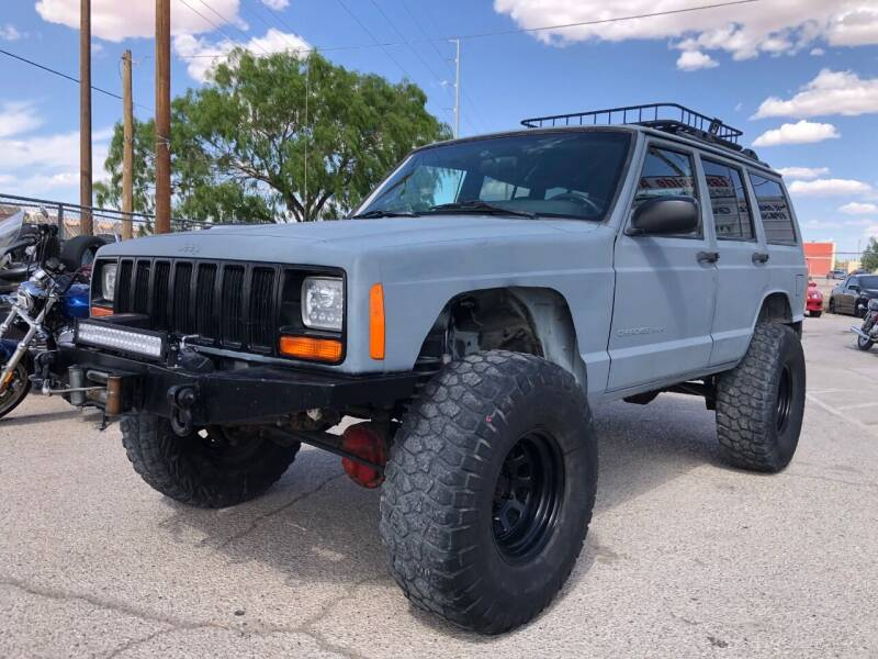1999 Jeep Cherokee for sale at Eastside Auto Sales in El Paso TX