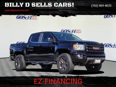 2019 GMC Canyon for sale at BILLY D SELLS CARS! in Temecula CA
