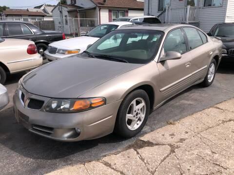 2003 Pontiac Bonneville for sale at Marti Motors Inc in Madison IL
