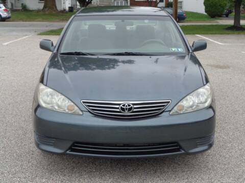 2005 Toyota Camry for sale at MAIN STREET MOTORS in Norristown PA