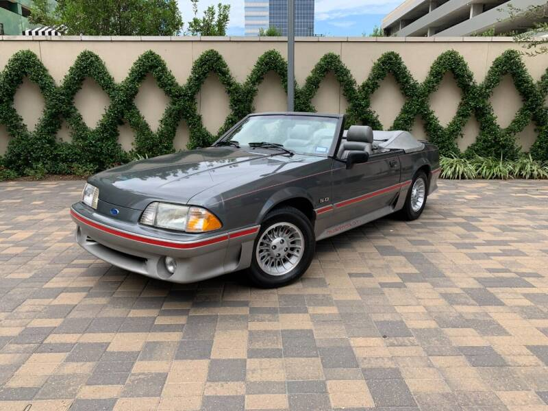 1989 Ford Mustang for sale at ROGERS MOTORCARS in Houston TX