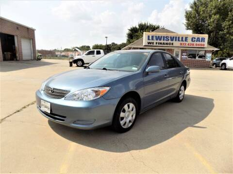 2004 Toyota Camry for sale at Lewisville Car in Lewisville TX