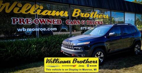 2016 Jeep Cherokee for sale at Williams Brothers - Pre-Owned Monroe in Monroe MI