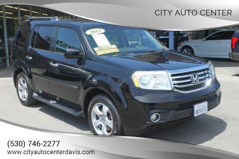 2012 Honda Pilot for sale at City Auto Center in Davis CA