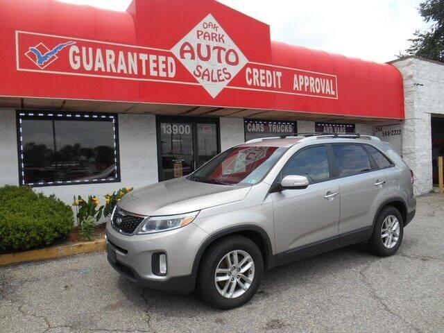 2014 Kia Sorento for sale at Oak Park Auto Sales in Oak Park MI