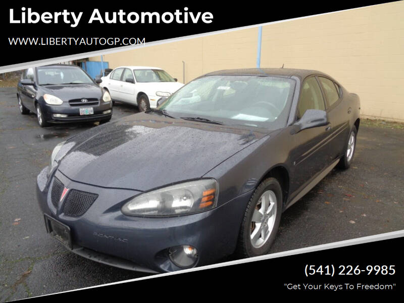 2008 Pontiac Grand Prix for sale at Liberty Automotive in Grants Pass OR