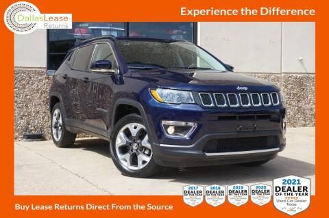 2019 Jeep Compass for sale at Dallas Auto Finance in Dallas TX