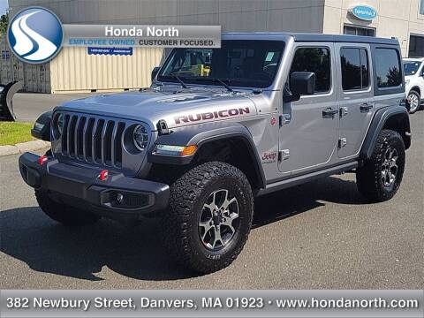 2018 Jeep Wrangler Unlimited for sale at 1 North Preowned in Danvers MA