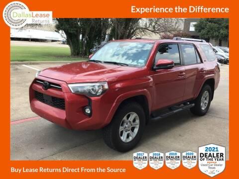 2021 Toyota 4Runner for sale at Dallas Auto Finance in Dallas TX