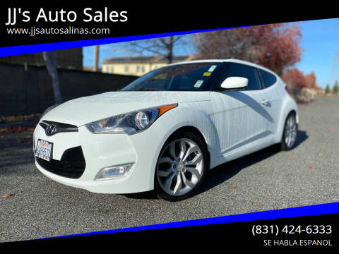 2012 Hyundai Veloster for sale at JJ's Auto Sales in Salinas CA