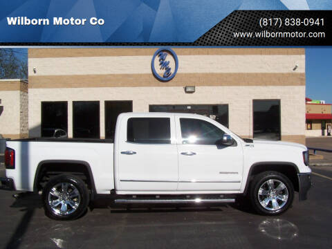 2017 GMC Sierra 1500 for sale at Wilborn Motor Co in Fort Worth TX