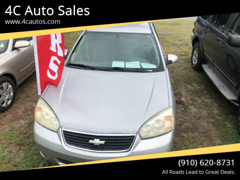 2006 Chevrolet Malibu Maxx for sale at 4C Auto Sales in Wilmington NC