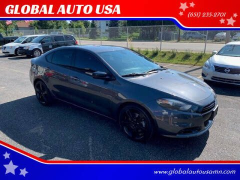 2015 Dodge Dart for sale at GLOBAL AUTO USA in Saint Paul MN
