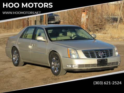 2007 Cadillac DTS for sale at HOO MOTORS in Kiowa CO