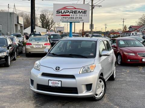 2008 Scion xD for sale at Supreme Auto Sales in Chesapeake VA