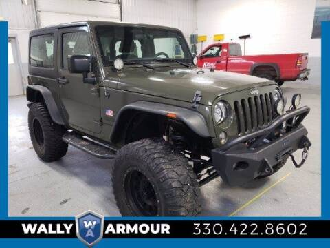 2015 Jeep Wrangler for sale at Wally Armour Chrysler Dodge Jeep Ram in Alliance OH