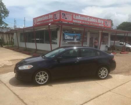 2013 Dodge Dart for sale at LA Auto Sales in Monroe LA
