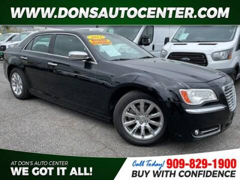 2012 Chrysler 300 for sale at Dons Auto Center in Fontana CA