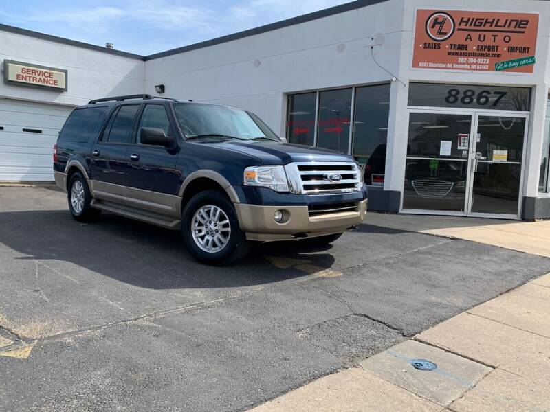 2014 Ford Expedition EL for sale at HIGHLINE AUTO LLC in Kenosha WI