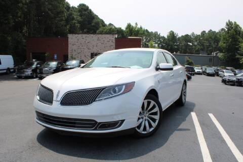 2014 Lincoln MKS for sale at Atlanta Unique Auto Sales in Norcross GA